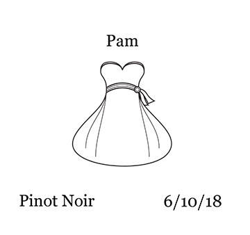 Wedding - Wine Bottle - Bride pre-designed label template for EU30007