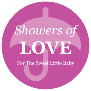 Baby Shower - Pink pre-designed label template for EU30020