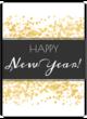 """Happy New Year!"" Wine Bottle Labels"