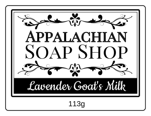 EU30142 - 80mm x 60mm - Apothecary Style Soap Labels