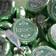 Hersheys Kiss Circle Label, Green