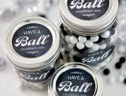 Circle Labels on Jars