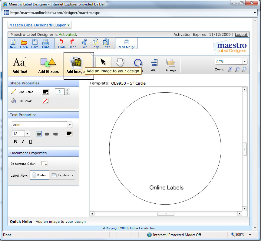 Custom Card Template online lables : Help Centre - How to take a Screenshot in Windows Vista ...