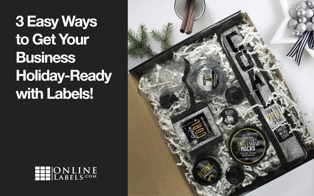 3 Easy Ways to Get Your Business Holiday-Ready with Labels