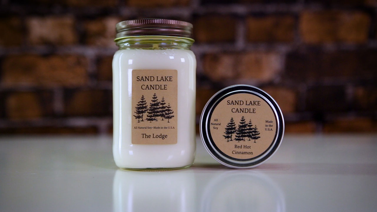 Sand Lake Candle products