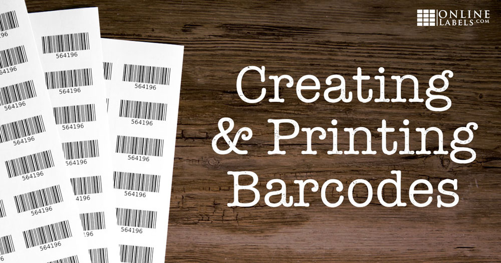 How To Create Print Barcodes For Your Business Online Labels