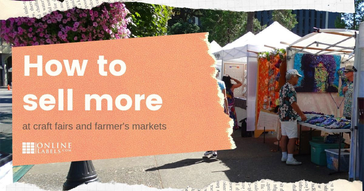 Interview: ways to increase sales at your next craft fair or farmer's market