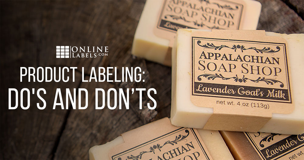 Product Labelling Do S And Don Ts Online Labels