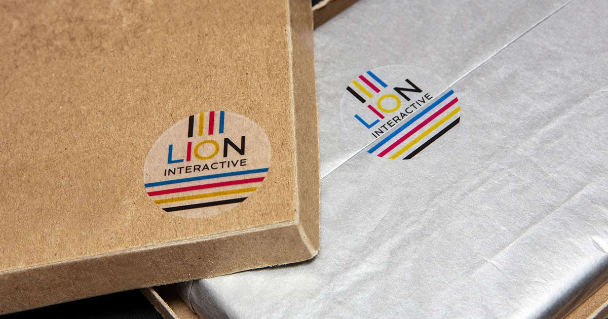 Add logo stickers to your product packaging or shipping boxes for extra brand recognition
