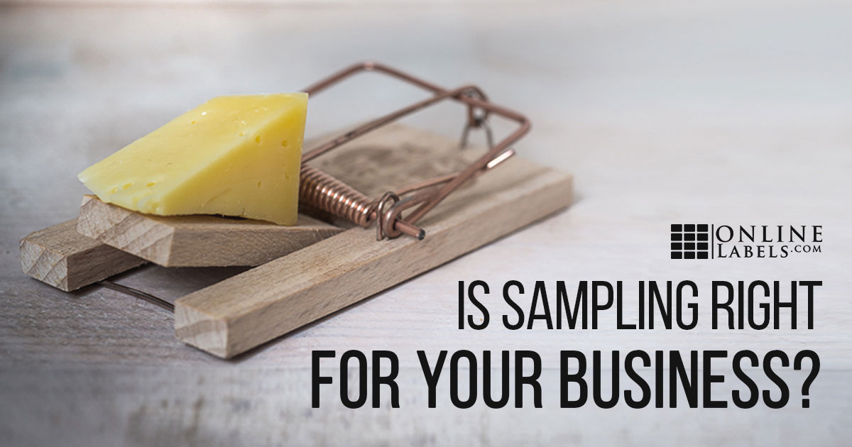 Should Your Business Offer Product Samples?