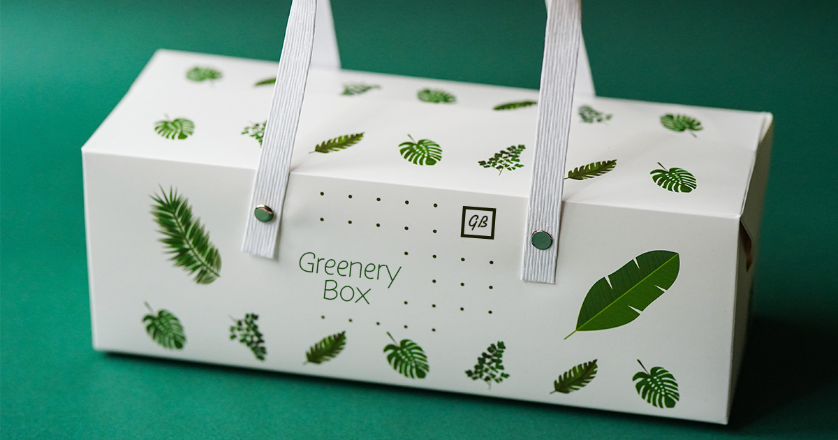 Packaging for a subscription box company