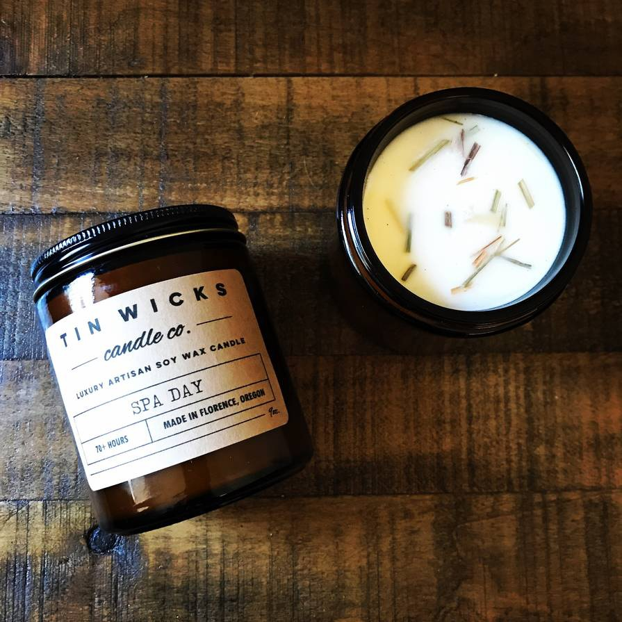Tin Wicks Candle product example
