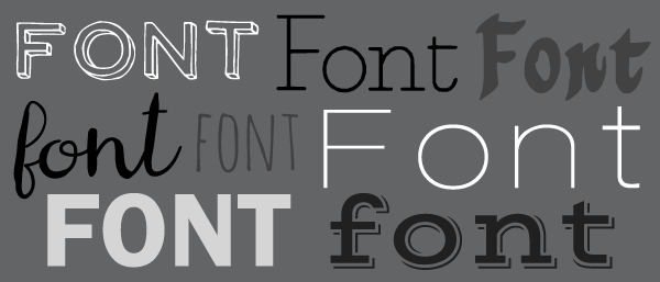 Choosing the Perfect Font For Your Label Design
