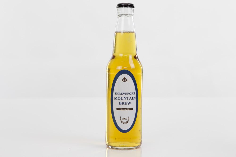 Circular Beer Bottle Labels