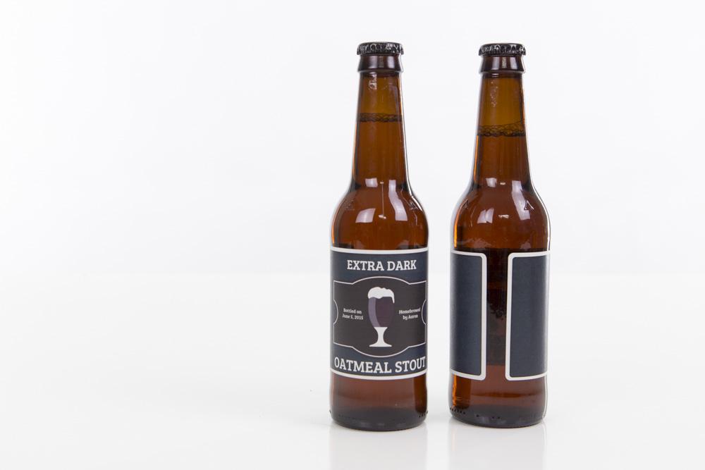 Full Wrap Beer Bottle Labels