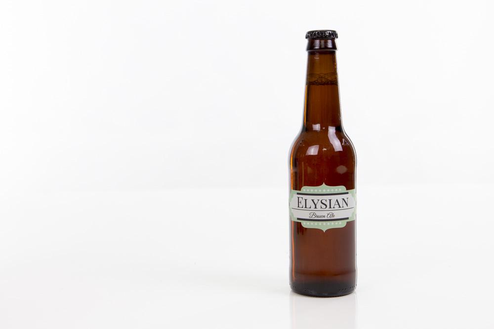 Marquee Beer Bottle Label