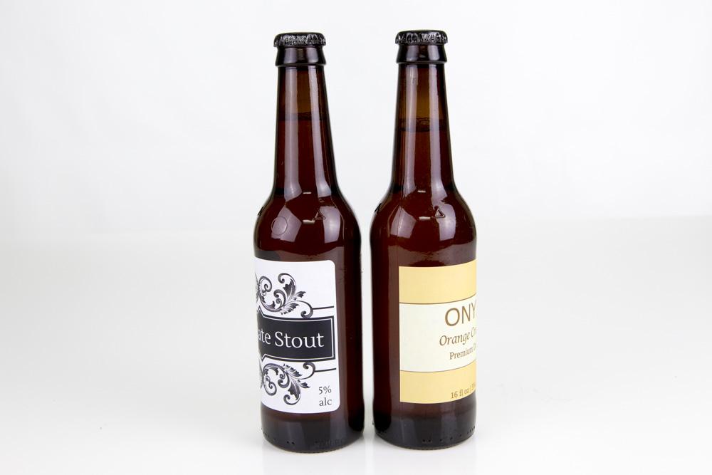Rounded vs. Square Corner Beer Bottle Labels