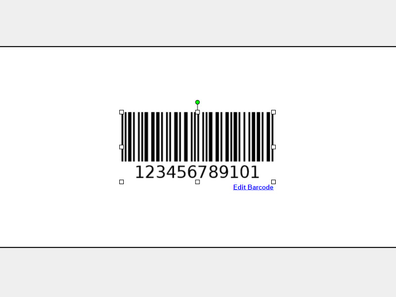 Maestro Label Designer Edit Barcode