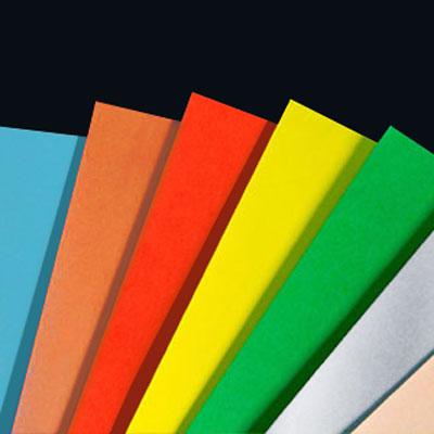 Standard Matt Colour Labels on Sheets